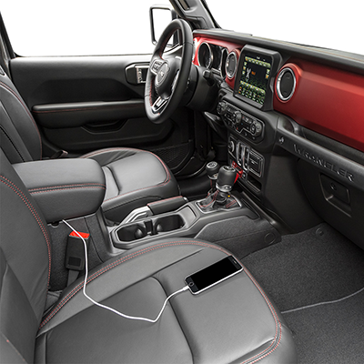 2019 Jeep Wrangler Technology Features
