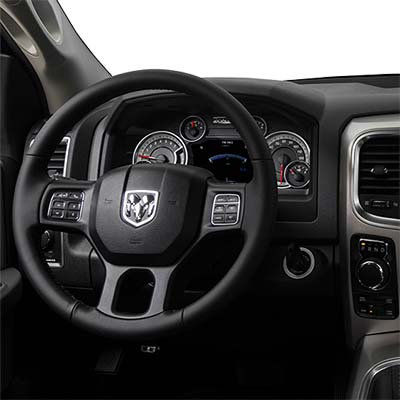 2018 RAM 1500 truck interior features