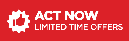 act now, limited time offers