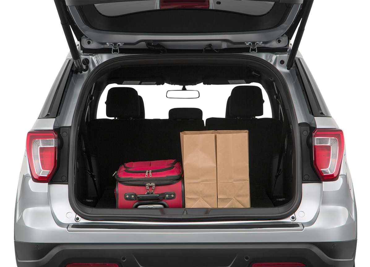 2019 Ford Explorer Cargo Space