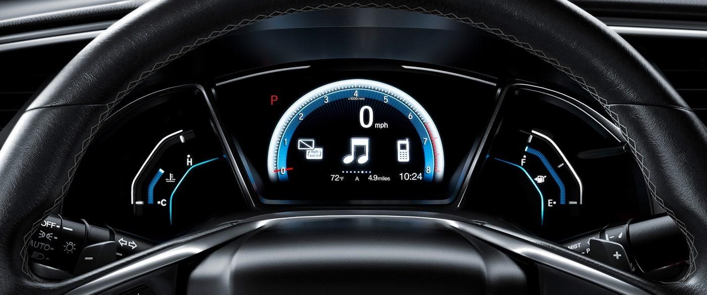 2021 Honda Civic Dashboard