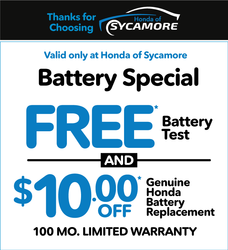 Battery Special - Free Battery Test and $10 off Battery Replacement