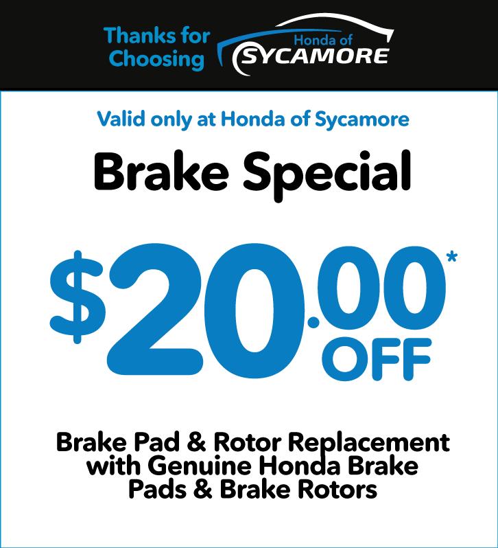 Brake Special - $20 off