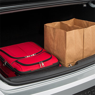 Sonata Trunk Space