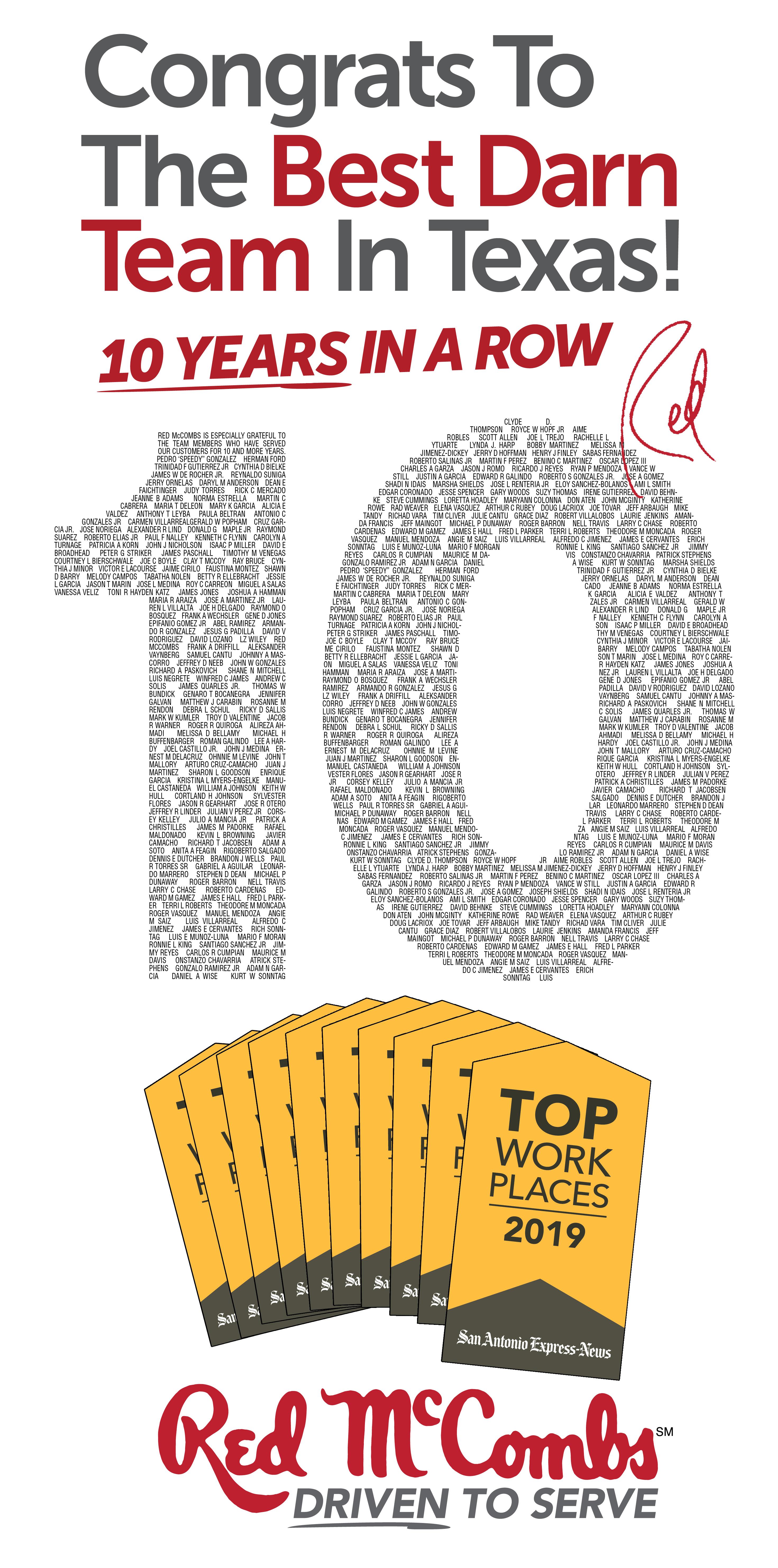 Top Workplaces In San Antonio