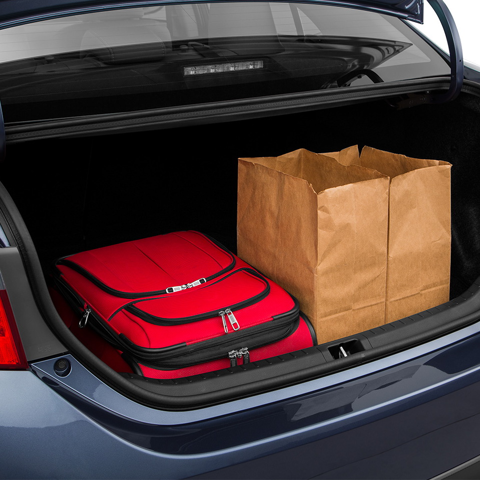 Pre-Owned Toyota Corolla Trunk space