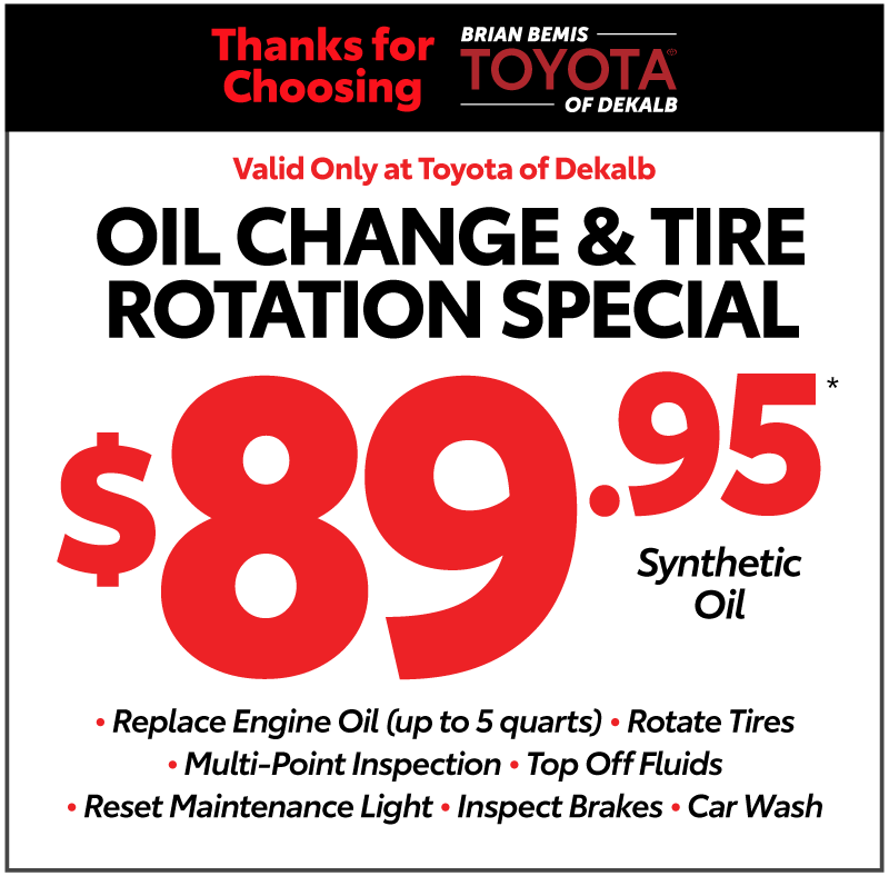 Toyota of DeKalb Service Special Coupon #4