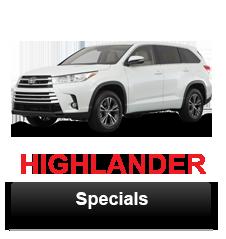 Highlander Specials