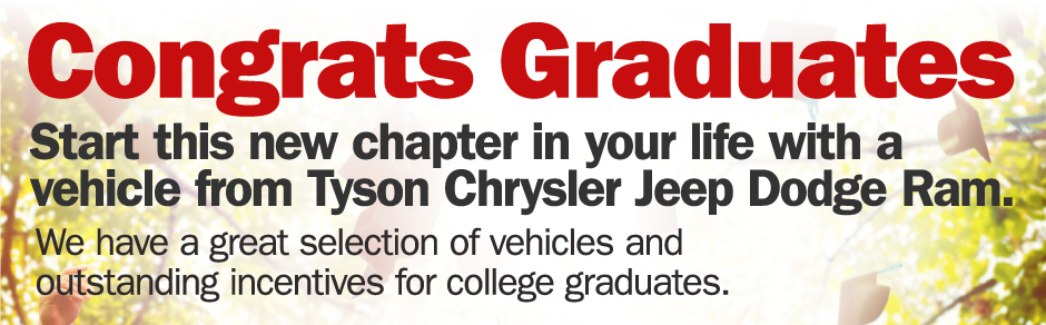 College Rebate at Tyson Chrysler Dodge Jeep Ram