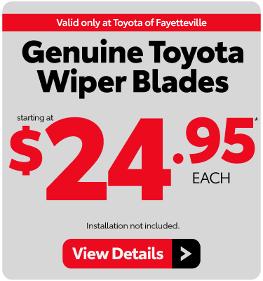 Wiper Blade Special - View Details