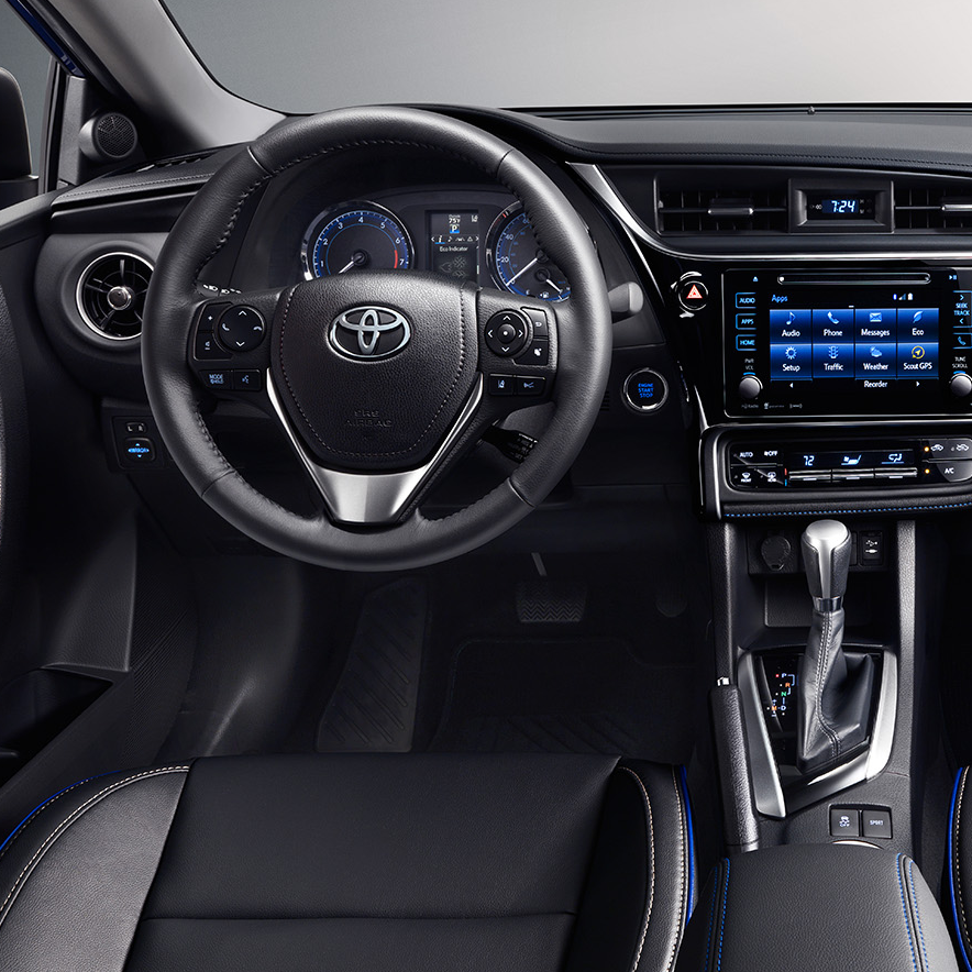 Exterior Features Of The 2017 Toyota Corolla