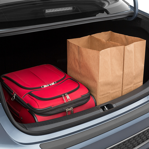 2020 Corolla Trunk space