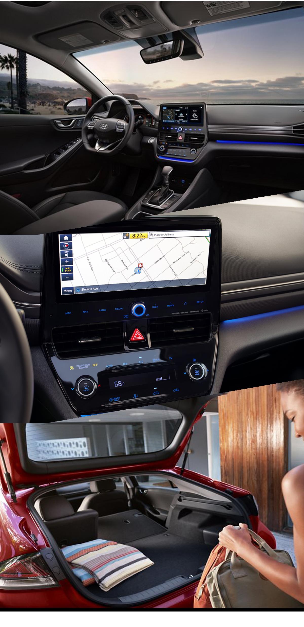 2021 Hyundai Ioniq Interior Images
