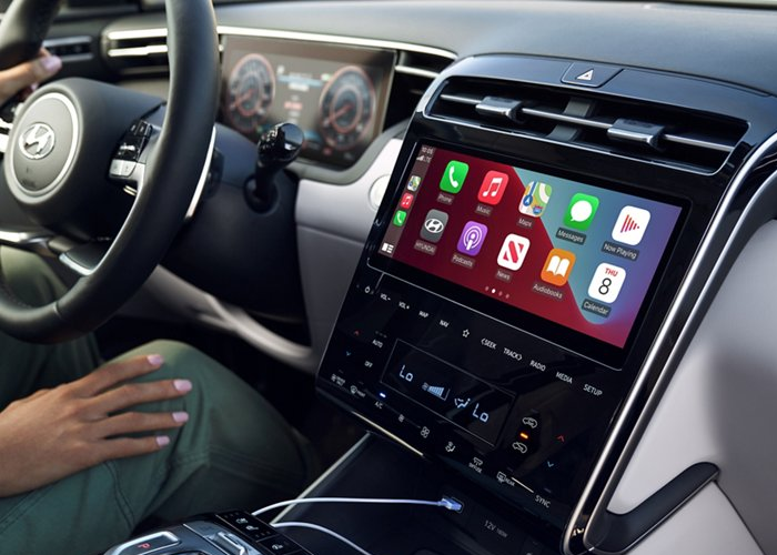 2022 Tucson Available Technology Features