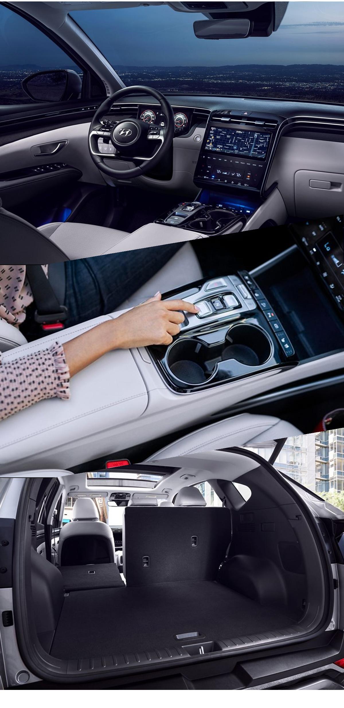 2022 Hyundai Tucson Interior Images