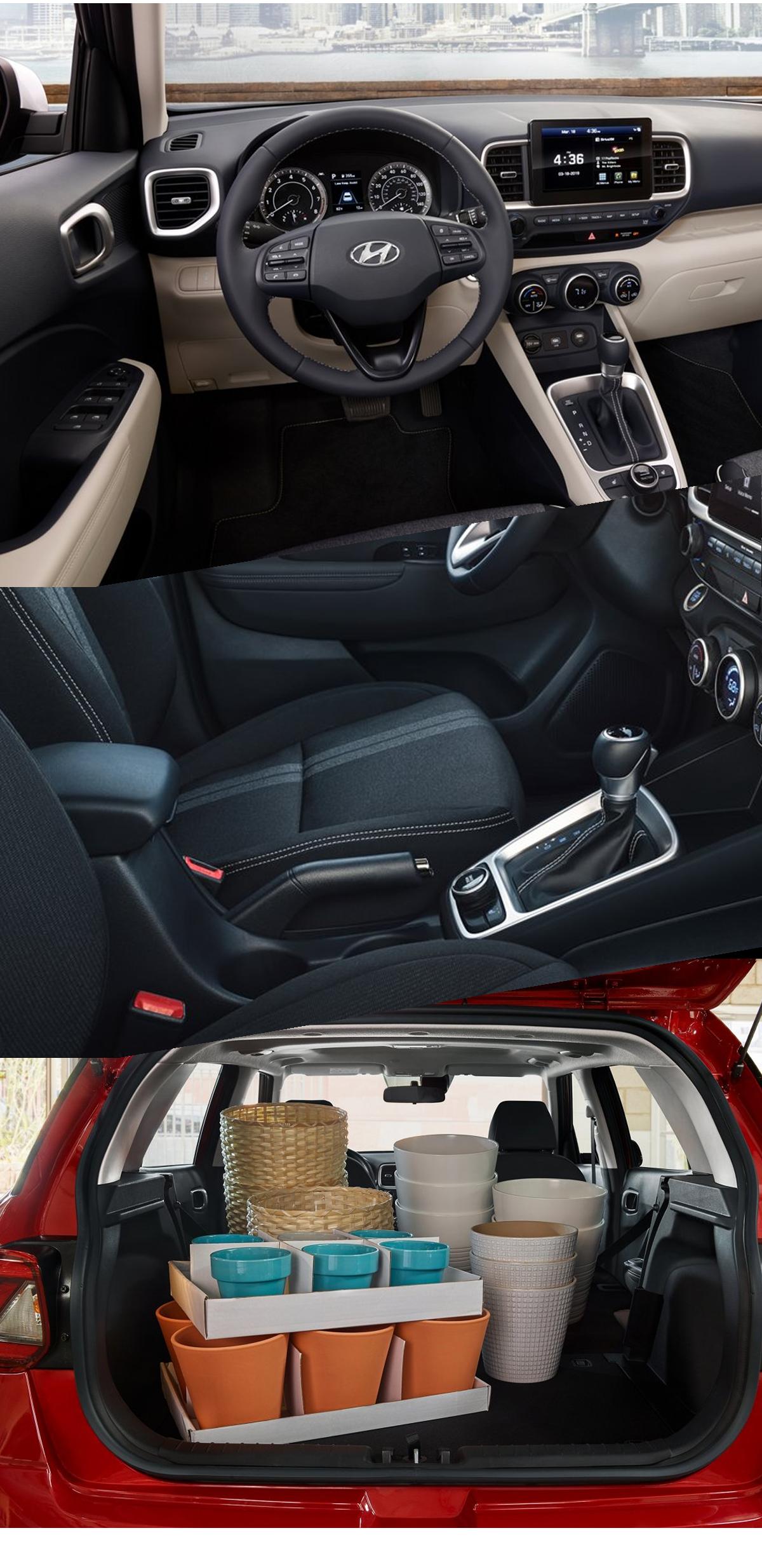 2021 Hyundai Venue Interior Images