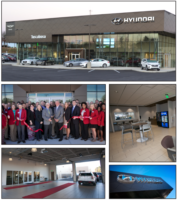 Come Visit Us At The All New Tuscaloosa Hyundai