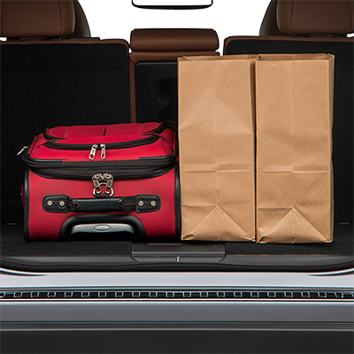 2018 Nissan Rogue Trunk Space