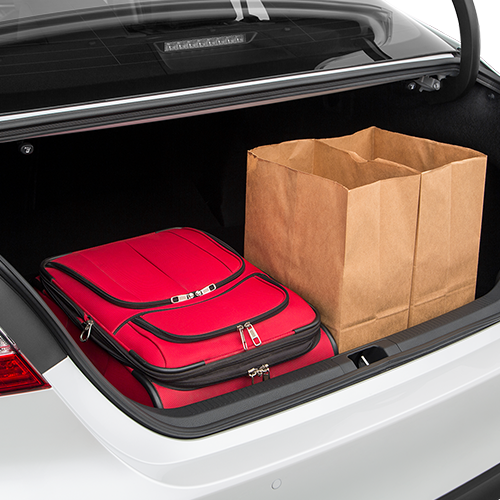 2017 Camry Cargo Space