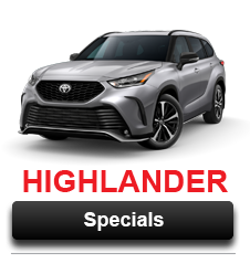 Toyota Highlander Specials Ardmore, OK