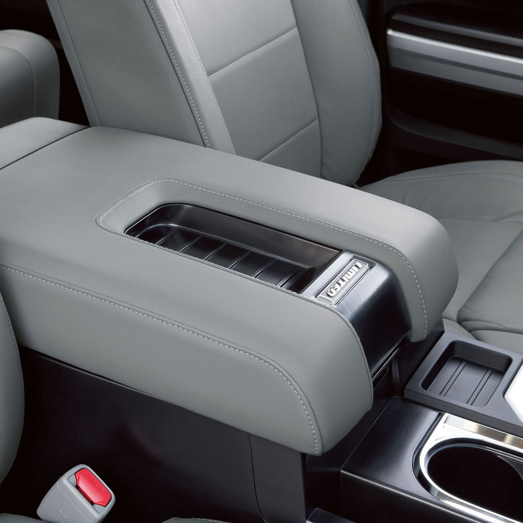 Toyota Tundra Rear Cup Holders