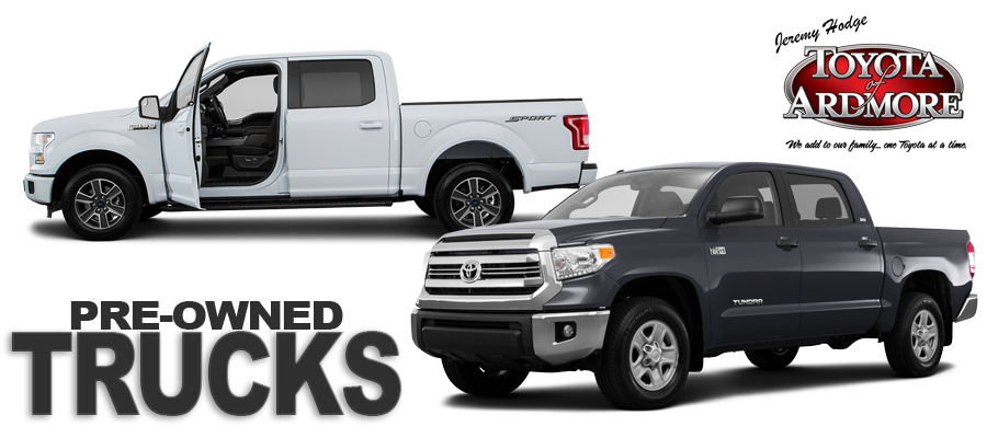 Huge Deals On Used Trucks In Oklahoma Toyota Of Ardmore