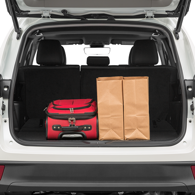 Toyota Highlander Trunk Space