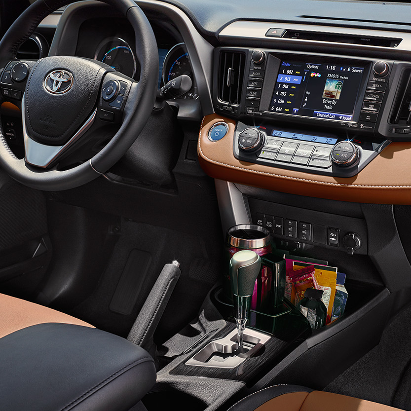 Interior Features Of The 2017 Toyota Rav4