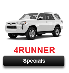 View Our 4Runner Special Offers Going on Now