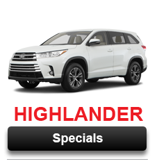 View Our Highlander Special Offers Going on Now