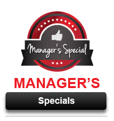 View Our Manager's Special Offers Going on Now