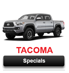 View Our Tacoma Special Offers Going on Now