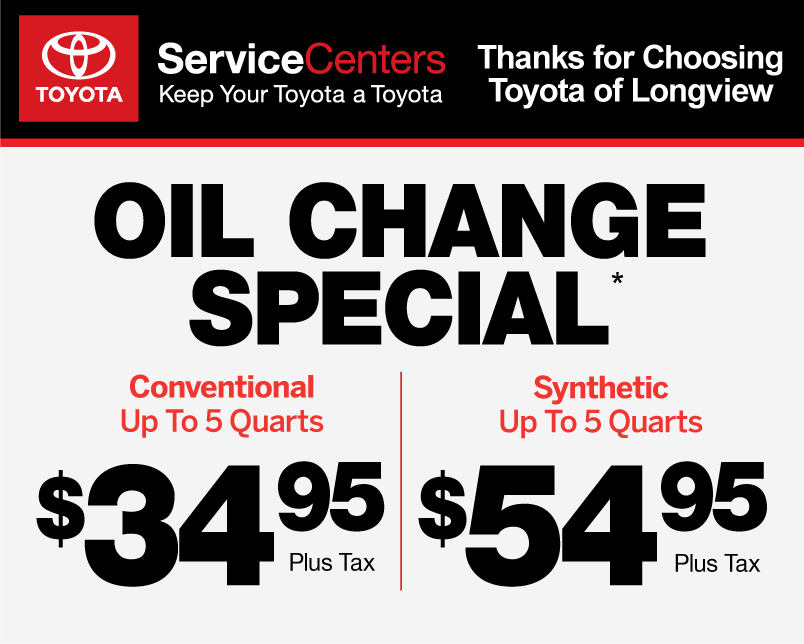 photograph relating to Toyota Service Coupons Printable titled Company Promotions 1 Toyota of Longview