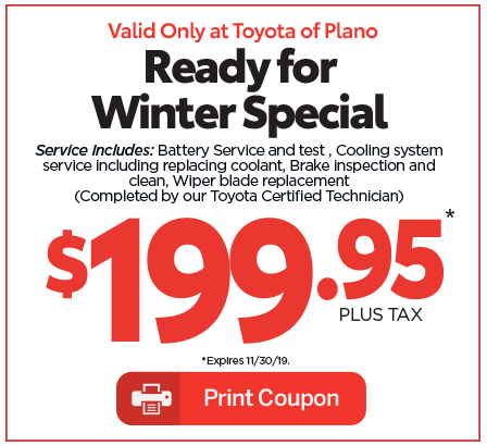 image regarding Toyota Service Coupons Printable named Toyota Company Bargains in the vicinity of Dallas TX Serving Lewisville