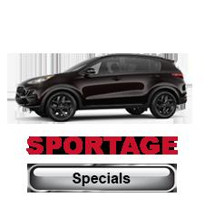 Kia Sportage Specials