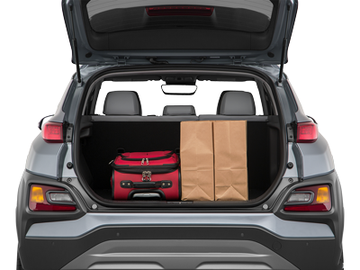 2020 Kona Trunk space