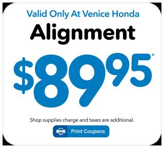 Honda Service Specials at Venice Honda