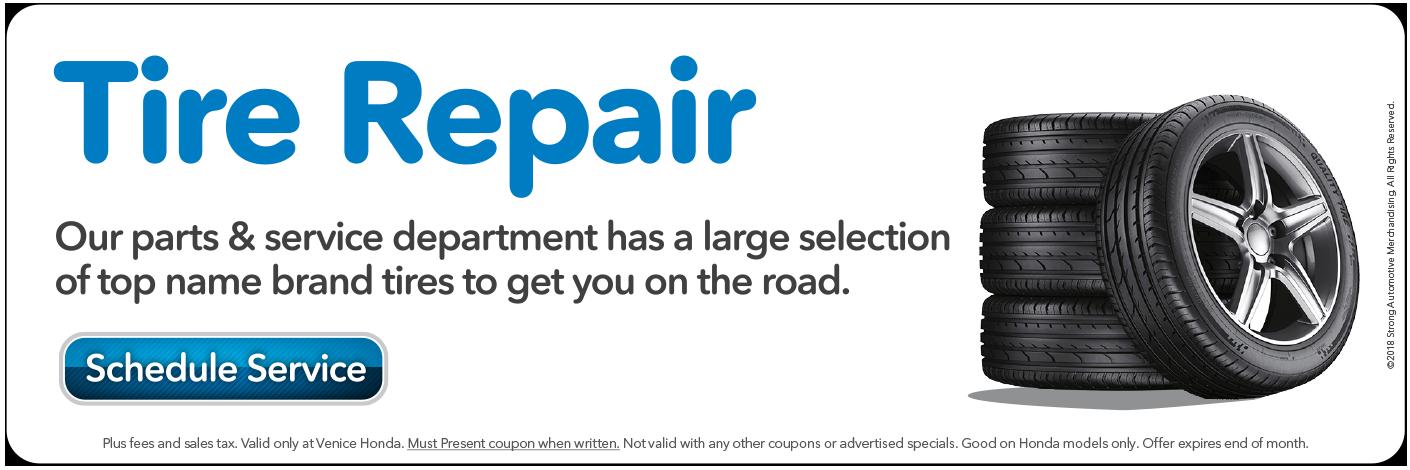 Tire Repair, Click here Schedule Service