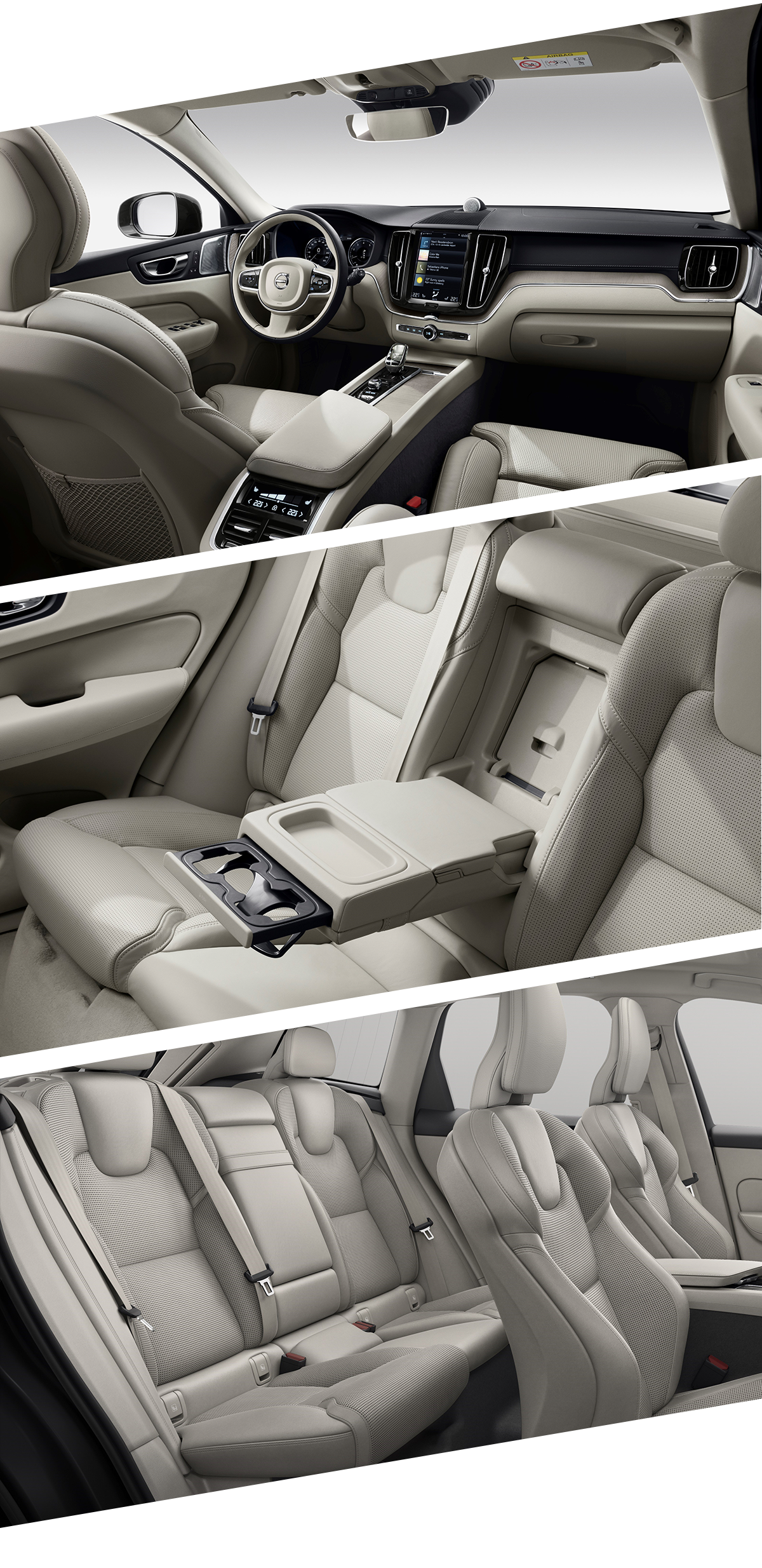 2021 Volvo XC60 Interior Images in Lynchburg, VA