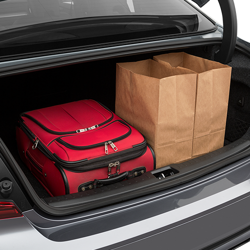 2019 Volvo s60 Trunk Space