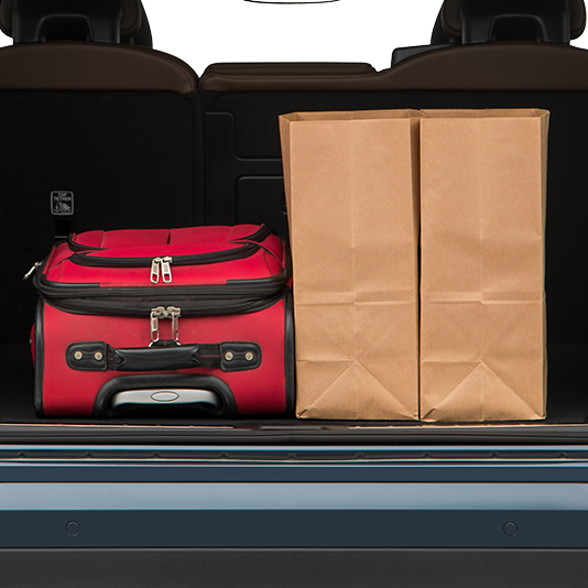 Volvo XC60 Trunk Space