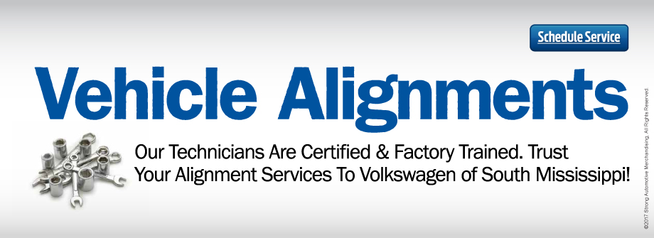 Looking For Your Best Price Alignments? Choose Volkswagen of South Mississippi!