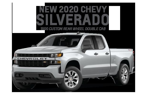 New 2020 Chevrolet Silverado 1500
