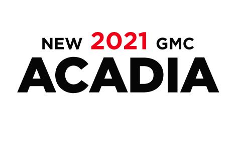 New 2020 GMC Acadia