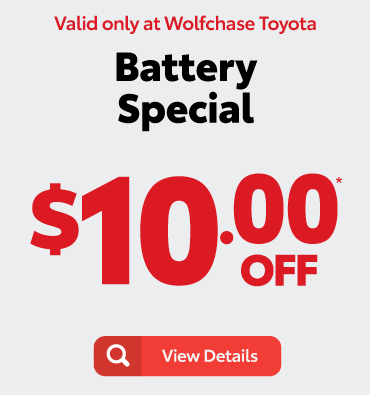 wiper blade special -$5 off*- valid only at Wolfchase Toyota - view details