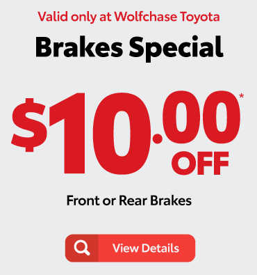 Alignment Check Complimentary*- valid only at Wolfchase Toyota - view details