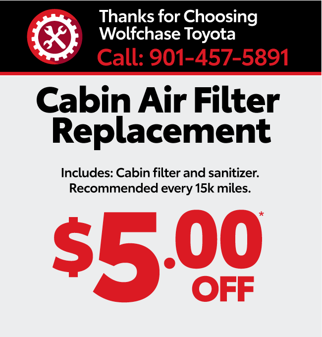 Service your vehicle with Wolfchase Toyota - brakes special
