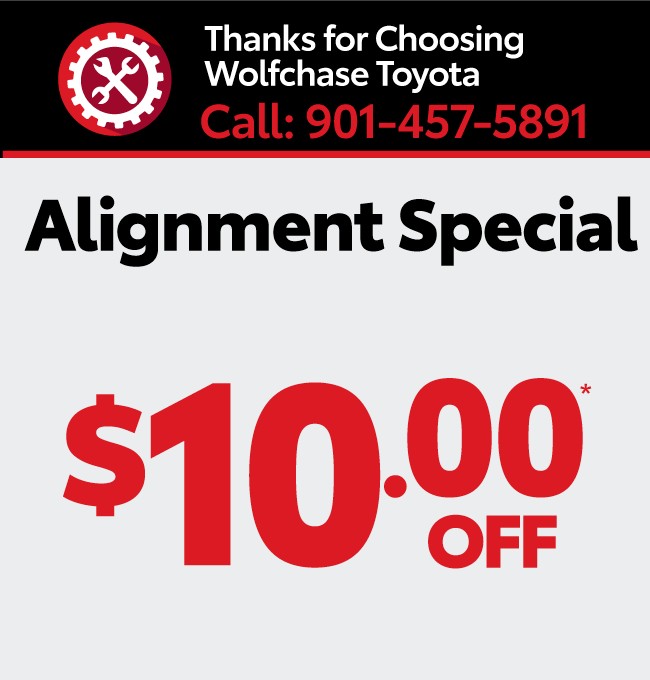 Service your vehicle with Wolfchase Toyota - Battery special