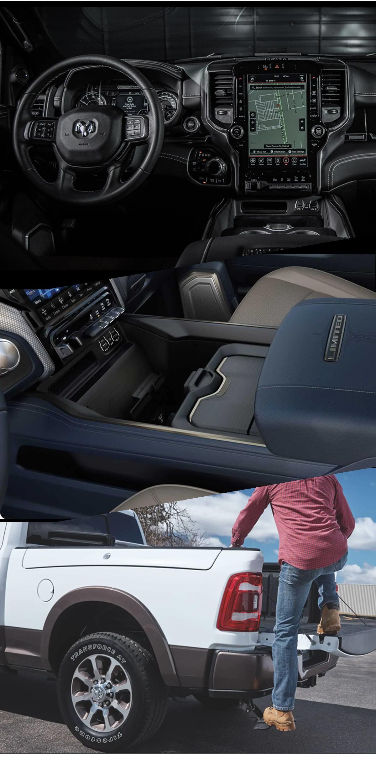 2021 RAM 2500 Interior Lucedale, MS