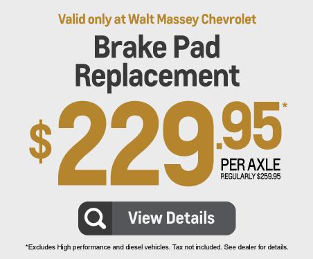 Brake Pad Replacement - $229.95